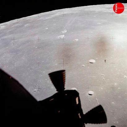 En provenance du Palais de la Découverte NASA Apollo 11, 20 juillet 1969. Vue de...
