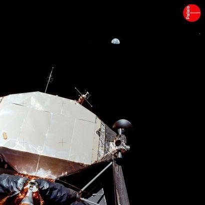 En provenance du Palais de la Découverte NASA Apollo 11, 21 juillet 1969. Étage supérieur...