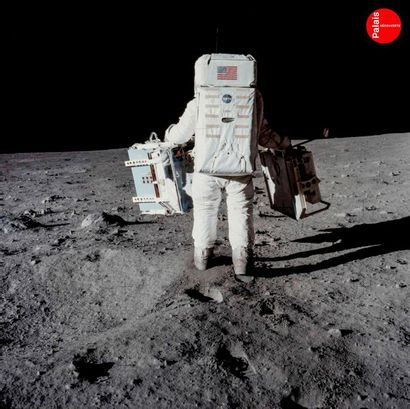 En provenance du Palais de la Découverte NASA - Neil Armstrong Apollo 11, 21 juillet...