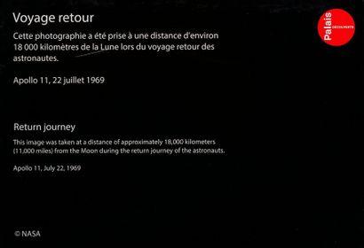 En provenance du Palais de la Découverte NASA Apollo 11, July 22, 1969. View of the...