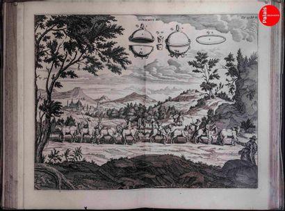 En provenance du Palais de la Découverte Reproduction of an old engraving representing...