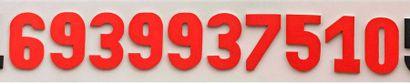 Quatrième section des décimales de Pi, de...