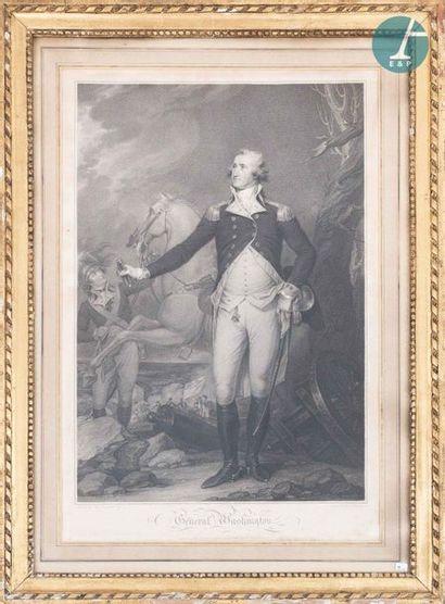 En provenance de l'ancien siège de la banque LAZARD D'après John TRUMBULL (1756-1843)...