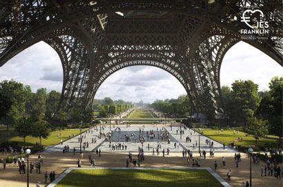 Visite unique en famille des sous-sols de la tour Eiffel Thomas Corbasson, the architect...