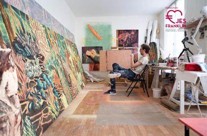 Visite privée de l'atelier d'un artiste de la scène française de l'art contemporain, une heure pour 2 personnes
