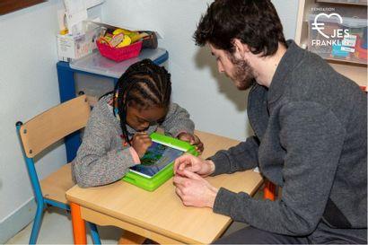 Rencontre avec la Classe Soleil des enfants autistes au Petit Franklin