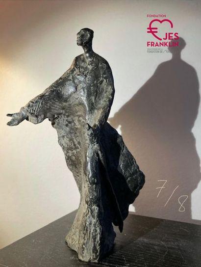 PAULINE OHREL - Statue dans l'esprit de saint Ignace