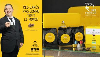 Un repas offert pour 4 personnes au Café Joyeux des Champs-Élysées