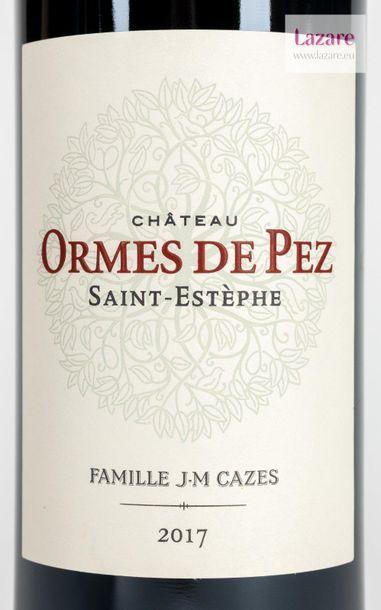 En provenance directe du château CASTLE LES ORMES DE PEZ, Saint-Estephe. Original...