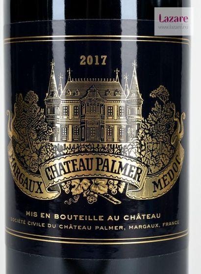 En provenance directe du château CHÂTEAU PALMER, Margaux. Third Growth Classified...