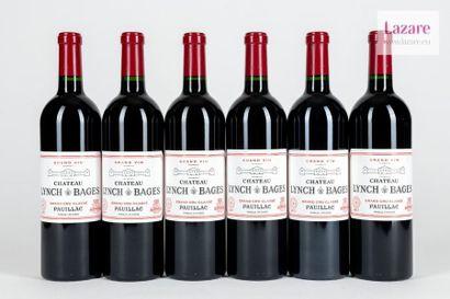 En provenance directe du château CHÂTEAU LYNCH BAGES, Pauillac. Fifth Growth Classified...