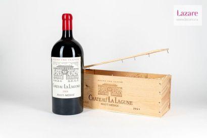 CHÂTEAU LA LAGUNE, Haut-Médoc. Third Growth Classified in 1855. Original wooden...