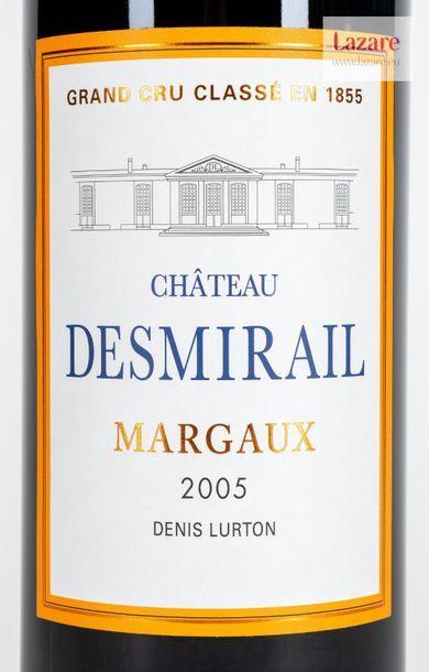 En provenance directe du château CHÂTEAU DESMIRAIL, Margaux. Third Growth Classified...