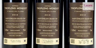 En provenance directe du château CHÂTEAU TROPLONG MONDOT, Grand Cru Saint-Emilion....