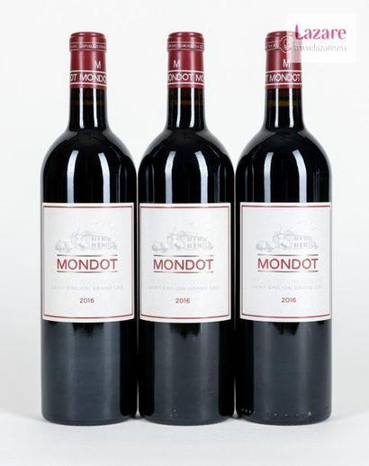 En provenance directe du château MONDOT, Grand Cru Saint-Emilion. Deuxième vin du...