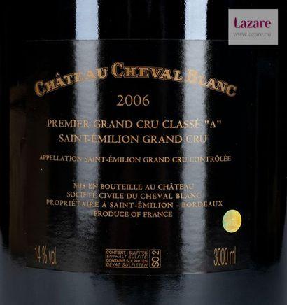 En provenance directe du château CHÂTEAU CHEVAL BLANC, Grand Cru Saint-Emilion. PREMIER...