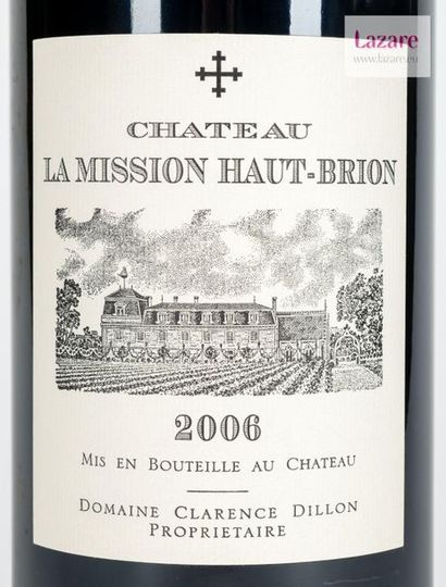 En provenance directe du château CHÂTEAU LA MISSION HAUT BRION, Pessac-Léognan. CRU...