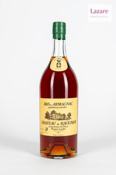 BAS ARMAGNAC 150 Cl 40,5%, Château de Ravignan....