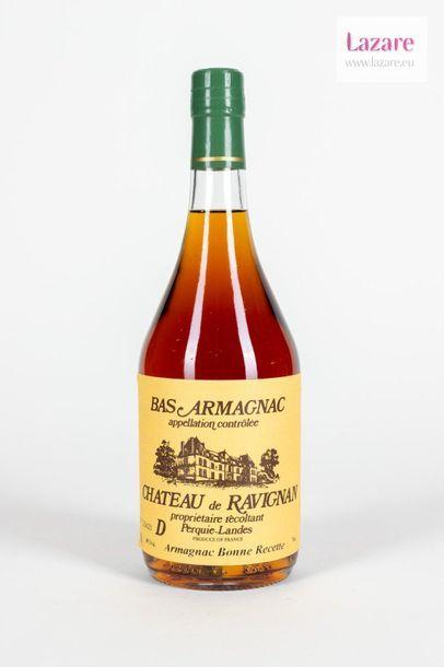 BAS ARMAGNAC 70 Cl 48%, Château de Ravignan....