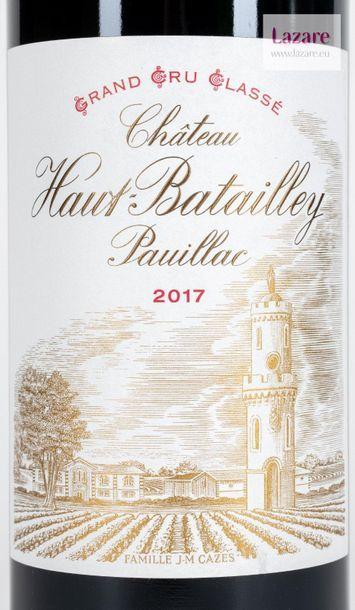 En provenance directe du château CHÂTEAU HAUT-BATAILLEY, Pauillac. FIFTH CRU CLASSIFIED...