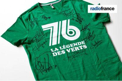 Radio France : l'Échappée solidaire au profit du Secours Populaire [Football] Tee-Shirt...