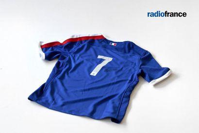 Radio France : l'Échappée solidaire au profit du Secours Populaire [Rugby] Maillot...