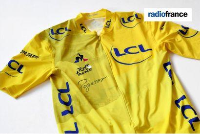 Radio France : l'Échappée solidaire au profit du Secours Populaire [Cyclisme] Maillot...