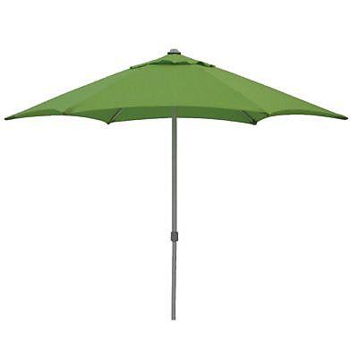 BLOOMA, Parasol en toile verte. Modèle Sutton....