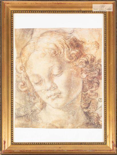 En provenance de l'Hôtel Saint James Albany Lot de trois reproductions, d'après Léonard...