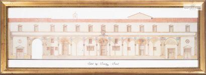 """En provenance de l'Hôtel Saint James Albany Reproduction """"Spedale degli'innocenti""""..."""