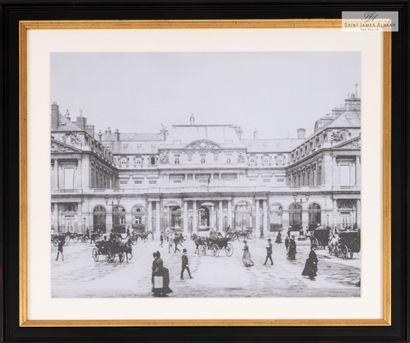 En provenance de l'Hôtel Saint James Albany Lot de trois reproductions de photographies...