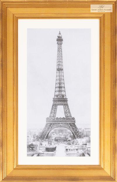 En provenance de l'Hôtel Saint James Albany Lot de cinq reproductions de gravures...