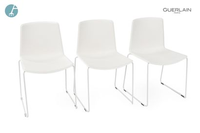 PEDRALI, modèle tweet, 6 chaises en plastique...