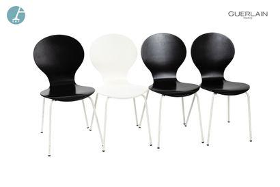 Lot de 5 chaises à dossier