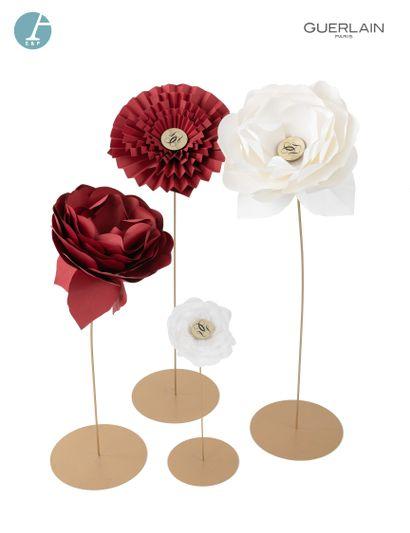 Lot de décorations de boutique : 4 fleurs...
