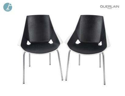 VIVA ACTIU, paire de chaises piètement métal,...
