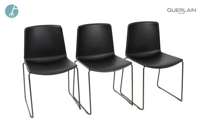 PEDRALI, modèle tweet, 3 chaises en plastique...