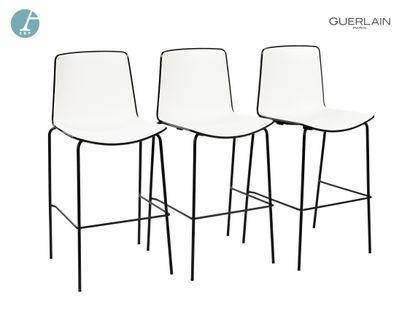 PEDRALI, modèle tweet, 6 chaises de bar en...