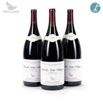 [VENTE EN LIGNE] 3700 magnums, en provenance directe du Domaine de la Poulette (Bourgogne Nuits-Saint-Georges)