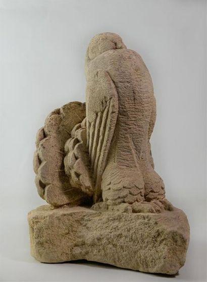 André MARGAT (1903-1999) « PigeonBoulant»...