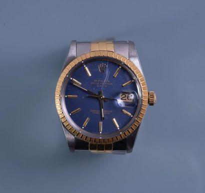 ROLEX, MONTRE bracelet OYSTER PERPETUAL Date....