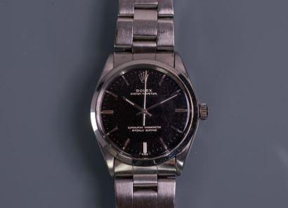 ROLEX, MONTRE bracelet d'homme Oyster Perpetual....