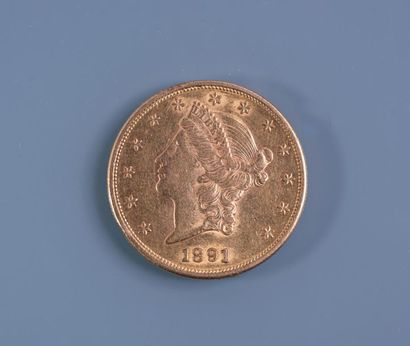 [NUMISMATIQUE] PIECE DE 20 DOLLARS en or....