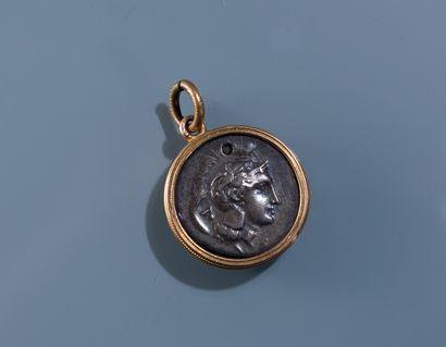 [NUMISMATIQUE] MONNAIE GRECQUE de Vélia, Statère en argent à la tête d'Athéna et...