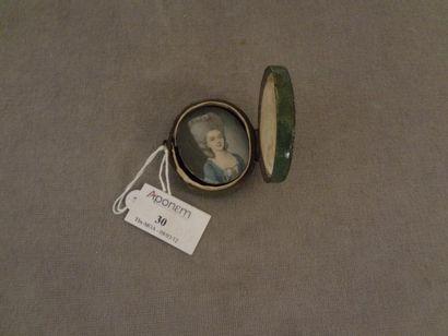 Ecole française du XVIIIe siècle Jeune femme...