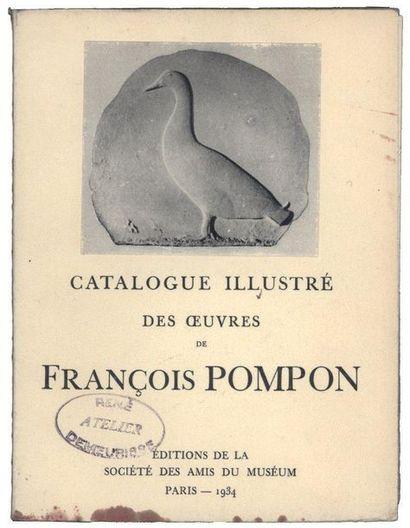 [FRANCOIS POMPON] «Catalogue Illustré des...