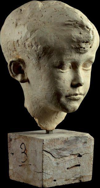 HENRY DESCHAMPS Modèle datant de 1932 Portrait...