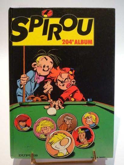 ALBUM SPIROU n°204. Usures d'usage. État...