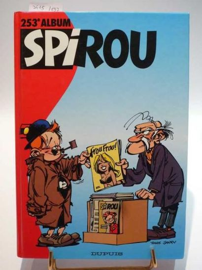 ALBUM SPIROU n°253. Usures d'usage. Bon état....