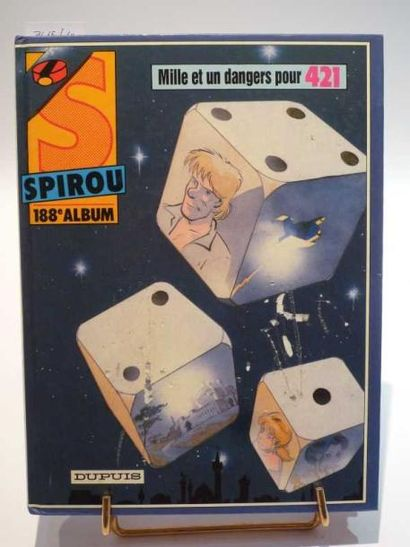 ALBUM SPIROU n°188. Usures d'usage. Mauvais...